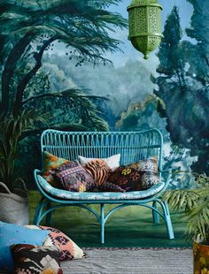 The Family Love Tree is Australia's favourite homeware, rattan & cane furniture store. Explore our range of bedheads, dining chairs, daybeds & more online Bohemian Interior, Bohemian Decor, Bohemian Style, Bohemian Patio, Interior Bohemio, Global Decor, Cane Furniture, Ratan Furniture, Outdoor Living
