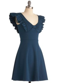 A-maizing Harvest Dress in Blue Corn, #ModCloth