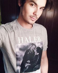 Tyler Blackburn - tylerjblackburn: It's finally here! Our first ever official HALEB tee. Just in time for the holidays! Available for 2 weeks only! Get yours here: represent.com/haleb {link to buy in bio} ✌️ @itsashbenzo