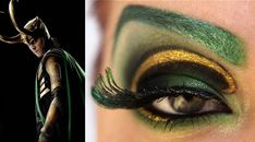 """Maquillaje para ojos versión """"Los Vengadores""""   Arte, Cine, Curiosidades, en Gran Angular Blog"""