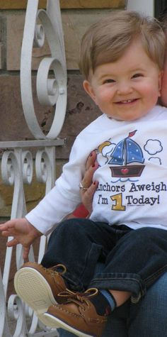 Nautical by Nature: Nautical Outfit of the Week: 1st Birthday