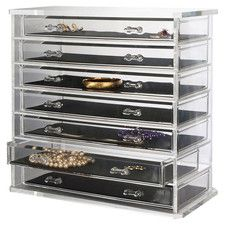 Deluxe 7 Drawer Jewelry Chest