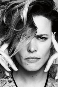 Rachel McAdams, season 2 of true detective,not as good as the first season!. thank you ms adams who makes it bearable xx.