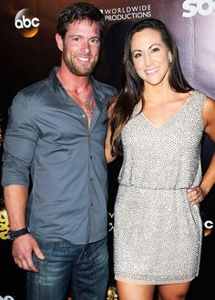 Dancing with the Stars: Noah Galloway Proposes to Jamie Boyd Celebrity Couples, Celebrity Weddings, Celebrity News, Good Morals, Nastia Liukin, Professional Dancers, Dancing With The Stars, Celebs, Celebrities