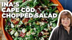 Ina Garten's Cape Cod Chopped Salad   Barefoot Contessa   Food Network - YouTube Best Ina Garten Recipes, Chopped Salad Recipes, Barefoot Contessa, No Cook Meals, Food Network Recipes, Food Hacks, Cape Cod, Favorite Recipes, Yummy Food