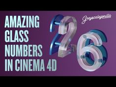 Cinema 4D - Make A Frosted Glass Look In Cinema 4D - YouTube