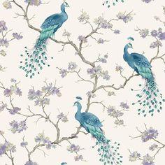 Bird Parade Teal