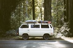 van-life:  Model: VW T3 Syncro Location: Highway 101, CA Photo:Foster Huntington