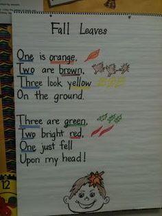 Poetry Center - Fall Leaves