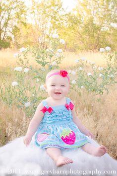 Maddie Turns One | Denver, CO Children Photographer