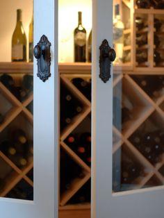 doors to wine cellar