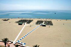 Roquetas de Mar beach in Almeria, cute!