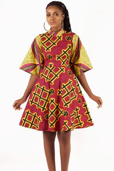 From bold women's clothes to unique accessories, discover the latest trends in ankara print fashion at Kuwala. Latest African Fashion Dresses, African Print Dresses, African Dresses For Women, African Print Fashion, Africa Fashion, African Attire, African Outfits, African Print Wedding Dress, South African Traditional Dresses
