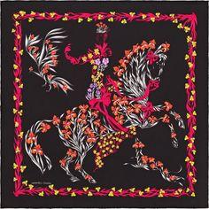 Scarf 70 Hermès | Cheval Fleuri