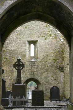 Burrishoole Abbey near Newport - Co Mayo, Ireland Love Ireland, Ireland Travel, Irish Eyes, Emerald Isle, Kirchen, British Isles, Fine Art Photography, Ireland Castles, Places To Go