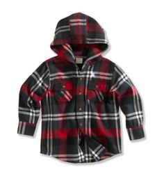 future baby boy fon will need this...carhartt & flannel--dressing like daddy :)