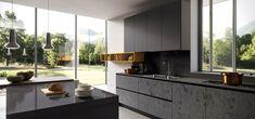 Cucina Moderna Design Ante in Vetro Lucido Opaco - Glass - Arredo3
