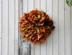 kukka syksyinen - Szukaj w Google Wreaths, Fall, Google, Home Decor, Autumn, Decoration Home, Door Wreaths, Fall Season, Deco Mesh Wreaths