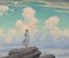 Charles Courtney Curran, The Veiled Cloud