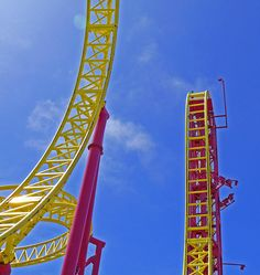 LIFE IS A ROLLER COASTER!