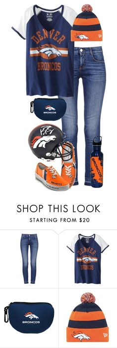 Denver Broncos by haybelle0207 ❤ liked on Polyvore featuring STELLA McCARTNEY, contest, broncos, superbowl, DenverBroncos and SuperBowlParty