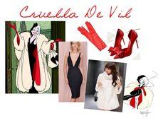 """""""Cruella"""" by tichia-b on Polyvore featuring moda"""
