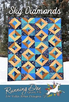 Card Patterns, Quilt Patterns, Jaybird Quilts, Christmas Tree On Table, Villa Rosa, Table Runner Pattern, Windham Fabrics, Diamond Quilt, Quilt Sizes