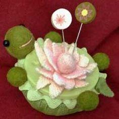 Lazy Turtle Pincushion