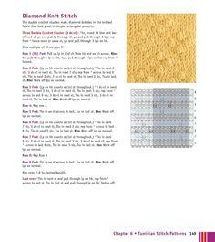 Мобильный LiveInternet Мотивы крючком - Crochet Stitches VISUAL Encyclopedia | MerlettKA - © MerlettKA® ™ | Pull Through, Double Crochet, Periodic Table, Stitch, Knitting, Simple, Fabric, Green, Tejido