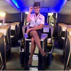 """""""All right, all right, miss, I'll surrender to you, but please don't tie me up. British Airways Cabin Crew, Flight Girls, Melissa Supergirl, Flight Attendant Life, Stockings Legs, Military Women, Women Legs, Sexy Legs, Fashion Styles"""