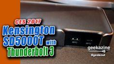 Kensington Thunderbolt 3 USB-C laptop dock Fingerprint Dongle Unveiled at CES