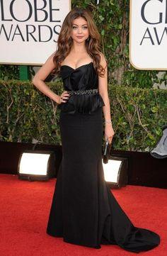 Sarah Hyland Strapless Dress