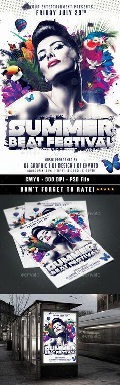 Summer Beat Festival Flyer