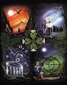 Connected to the Elements Religion Wicca, Earth Air Fire Water, 4 Elements, Classical Elements, Pagan Art, Earth Wind, Book Of Shadows, Deities, Occult