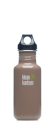 Klean Kanteen Stainless Steel Water Bottle with Poly Loop Cap 18Ounce Tree Bark *** See this great product.(This is an Amazon affiliate link and I receive a commission for the sales)