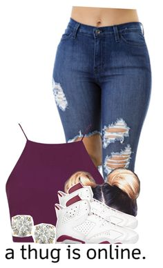 """""""2/27"""" by trillgolddfashionn ❤ liked on Polyvore featuring Topshop and Auriya"""