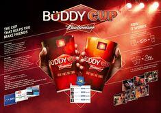 Budweiser // Buddy Cup - Rafa Oliveira - Art Director