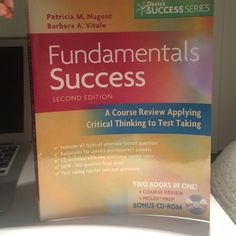 Fundamentals Success Nursing book 2nd ed. Includes cd. By Patricia Nugent & Barbara Vitale. Minimal markups. Other