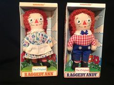 1960s raggedy ann doll in box | ... ) Raggedy Ann & Andy By Brand, Company, Character Dolls Dolls & Bears