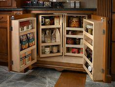 Base Pantry traditional-kitchen