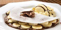 Que tal repor a energia com uma boa tapioca de banana com chocolate? www.carolcelico.com
