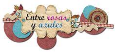 """Logo/Firma de """"Entre rosas y azules"""""""