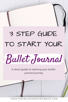A short and simple guide to starting your bullet journal journey, plus keys to making the system that works for you! Down Quotes, Mental Health Journal, Cute Notebooks, Journal Template, Business Education, Write It Down, Coping Skills, Pen And Paper, Journal Prompts
