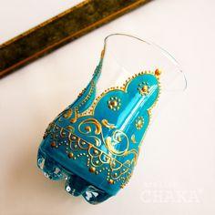 Chai Glass/Arabic | CHAKA* ベリーダンス衣装&オリエンタル雑貨