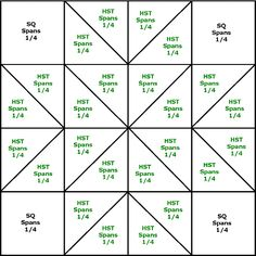 Lemoyne Star Quilt Block Pattern