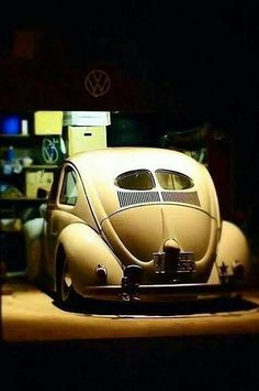 I think '59, when I was 15/16 and a friend had a '59 bug, I love old cars, I thought that car was the most beautiful thing ever.