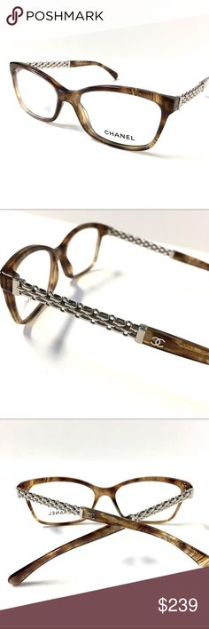 CHANEL Eyeglasses Brown Horn Silver CHANEL Eyeglasses Brown Horn Silver                                                            54mm-16mm-140mm.                                            Never Worn!!! Without Tags!!!                            Included Original CHANEL Case!                       One Day Shipping!!!                                            Guarantee 💯 % AUTHENTIC!!!                              🚫NO TRADES🚫 CHANEL Accessories Glasses