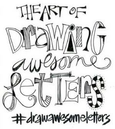 Hand lettering techniques with Joanne Sharpe   ClothPaperScissors.com