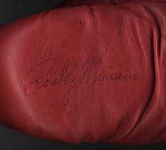 Antiquities LV - Rocky Marciano Signed Boxing Glove, $2,995.00…
