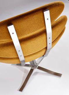 Corona chair by Poul Volther. Kjellerstua.
